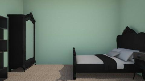 Black - Modern - Bedroom - by Donkeycorn