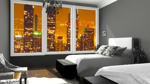 Hotel Room - Modern - Bedroom - by TManha