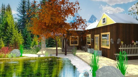 Camp On The Lake - Rustic - Garden - by madisonstreet