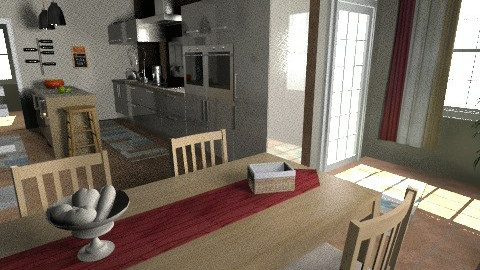 home 2 - Glamour - Kitchen - by sally89