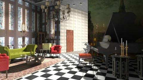 old music room 2 - Vintage - by Ariadne491