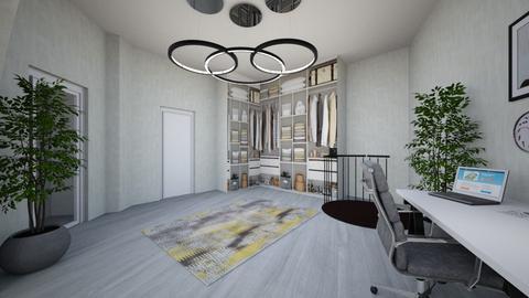 final dormitor si dressin - Bedroom - by floriciulei