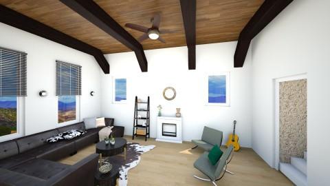Southwestern Deco - Living room - by mjjjj_01