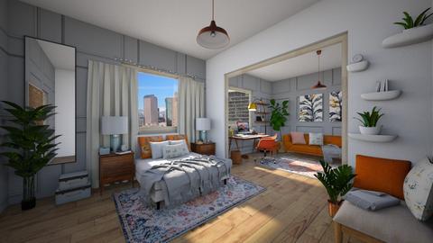 work bedroom - Bedroom - by Ritix