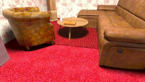 Retro Room - Retro - Living room - by jodiemorrow
