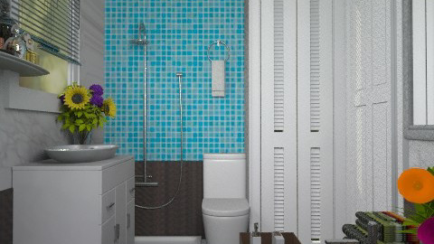 Bess bathroom:) - Modern - Bathroom - by Your well wisher