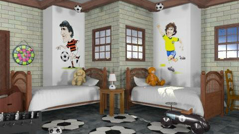 Quarto 19 - Kids room - by georgianasouza