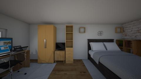My room 2_1 - Modern - Bedroom - by mikeeXD