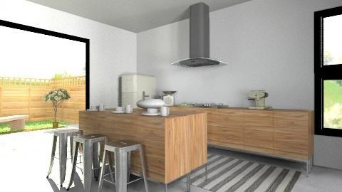 summer house pt2 kitchen - Vintage - Kitchen - by amandafern