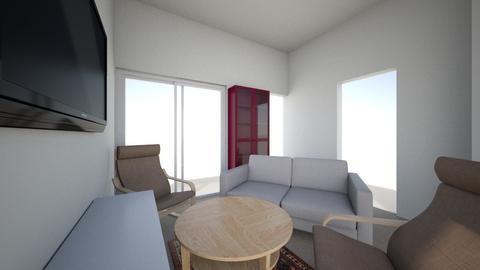 apartment 2  - Living room - by poshbosh