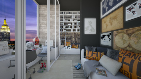 KK1615 - Modern - Office - by KK1615