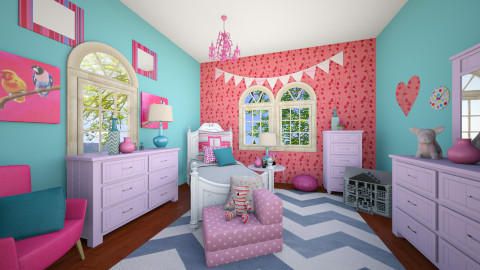 Dolly - Glamour - Kids room - by CreativeCE