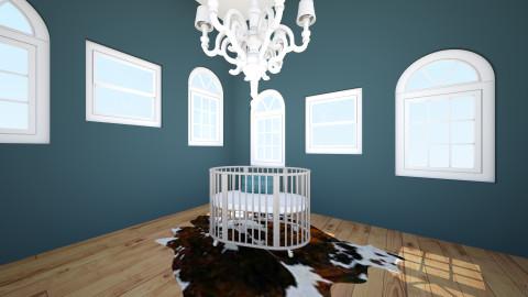 baby room - by Lillie Gardner