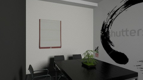 New Asia room - Classic - Office - by Irena_S