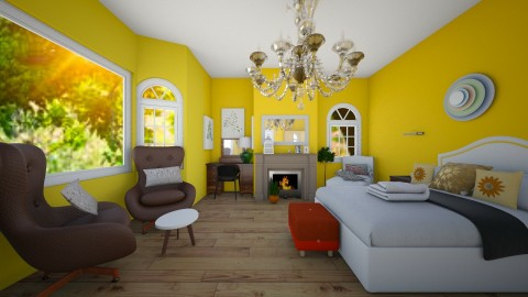 masterbedroom - Bedroom - by ambenevol