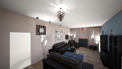 Contemporary Living Rm 6 - Living room - by lioness006