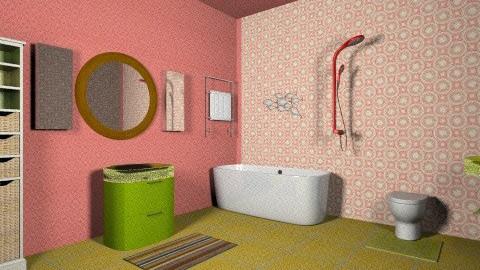 1970s Modern Bathroom 3 - Retro - Bathroom - by tillla01