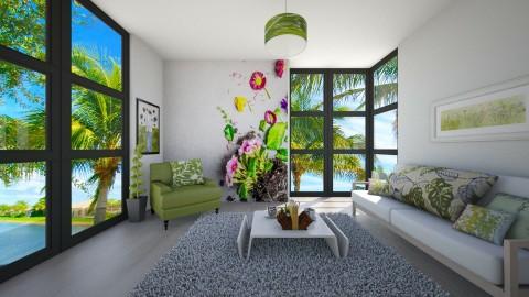 Summer I Maia - Living room - by Jhiinyat