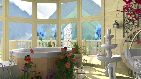Outdoor living - Minimal - Garden - by qasrina ahmad