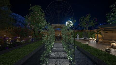 garden of lights - Garden - by 80monkey