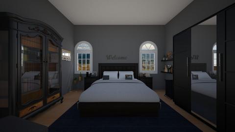 grown up bedroom 1  - by eboni archila