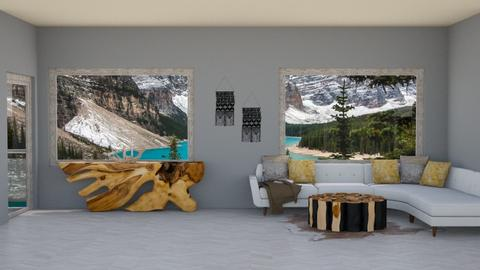 Aspen Chalet Template - Country - Living room - by BohoCHicc