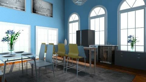 contemporary kitchen - Modern - Kitchen - by dancergirl1243