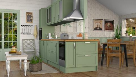Kitchen - Country - Kitchen - by Sally Simpson