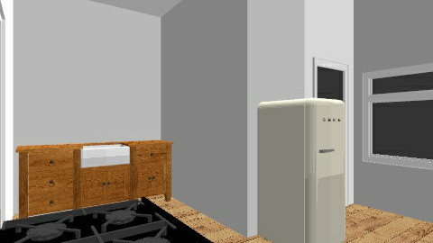 Kitchen one - Classic - Kitchen - by nilou