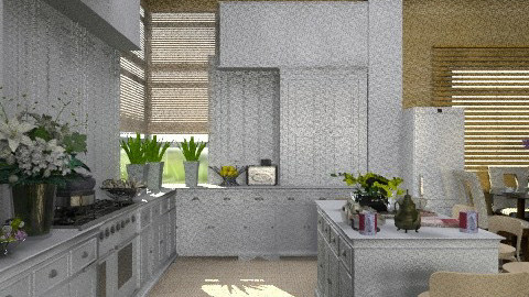 White Kitchen. View 2 - Country - Kitchen - by Your well wisher
