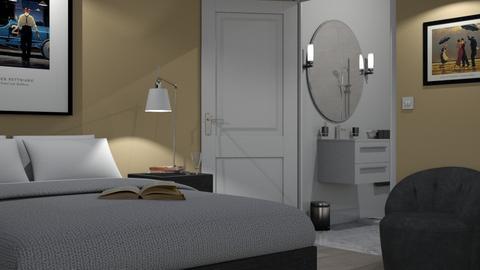 Bathroom Door - Bedroom - by GraceKathryn