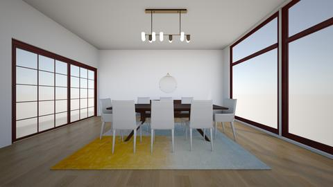 Paulina walnut  bottega - Dining room - by karlitajmlm
