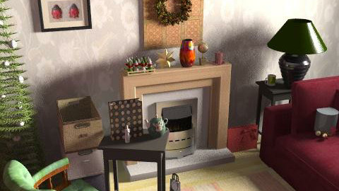 chr33 - Retro - Living room - by ani_kapanova