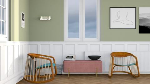 Just wait a while - Minimal - Living room - by HenkRetro1960