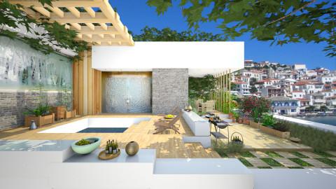 Mediterranean style  - Modern - Garden - by Ida Dzanovic