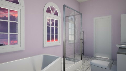bathroom en suite - Modern - by SnofflesMcwaffles