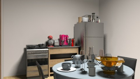 kitchen - Modern - Kitchen - by tamyres