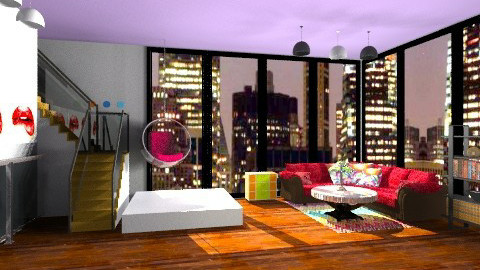 Modern Livingroom - Modern - Living room - by TheAlgonaGirl