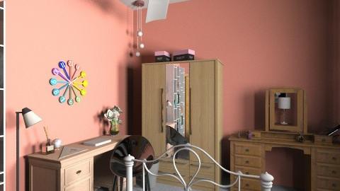 Sweet Coral - Feminine - Bedroom - by ColoryApriLove