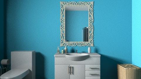 Blue Bathroom - Bathroom - by JA Design