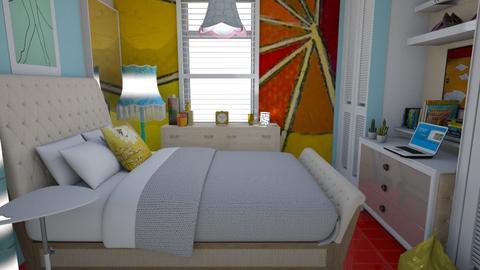 Small bedroom  - Feminine - Bedroom - by augustmoon