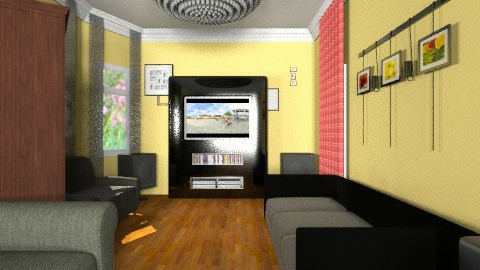 my living room redone - Eclectic - Living room - by divachiquita714