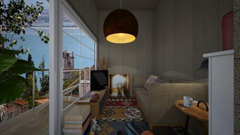 Casa189LivingRoom - Eclectic - Living room - by nickynunes