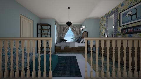 Mezzanine bedroom - Bedroom - by CCPompey