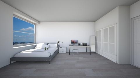 Apartment  - Living room - by clarktasia