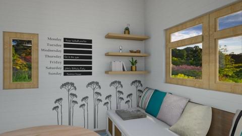 Small Home view2 - Minimal - Living room - by Tara T
