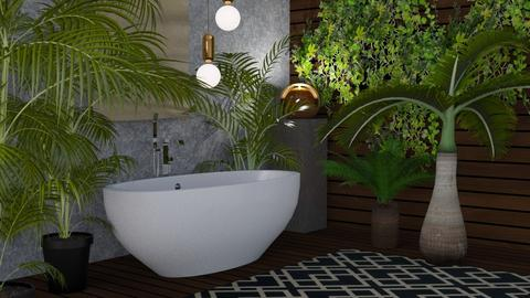 Jungle Bath - by kyrabaldwin