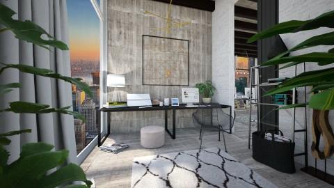 loft home office  - Modern - Office - by esmeegroothuizen