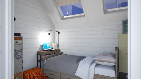 Small attic - Modern - Bedroom - by augustmoon