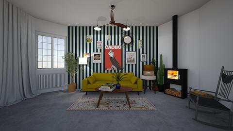 retro dream - Living room - by marleen2003
